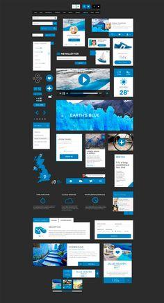 모바일 앱 UI 모음 : 네이버 블로그