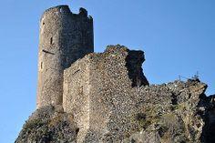 Les châteaux de Lastours, Languedoc Roussillon