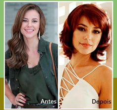 A atriz Paola Oliveira mudou o visual para viver uma nova personagem na Tv, agora ela está ruiva e com o cabelo curto. #corte #ruivo #famosas #look #cabelos #curto #fios #loucasporcabelo #tutanat