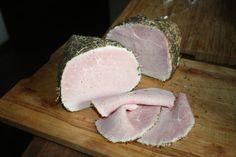 Szynka kozacka domowa wędlina Kielbasa, Smoking Meat, Charcuterie, Sausage, Pork, Dairy, Menu, Cheese, Ale