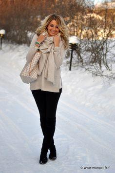 Cozy Winter Neutrals.