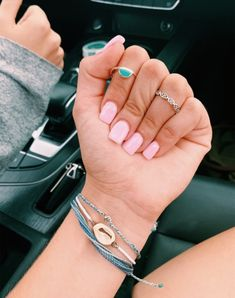 On average, the finger nails grow from 3 to millimeters per month. If it is difficult to change their growth rate, however, it is possible to cheat on their appearance and length through false nails. Are you one of those women… Continue Reading → Short Square Acrylic Nails, Summer Acrylic Nails, Best Acrylic Nails, Summer Nails, Short Square Nails, Spring Nails, Aycrlic Nails, Hair And Nails, Coffin Nails