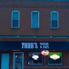 Check this Cedar Bluffs restaurant: Todd's Tavern and Cafe - 102 W Main St…