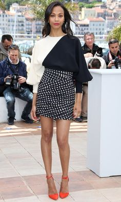 Formal Thing zoe saldana style | Zoe Saldana At The Photocall For 'Blood Ties'