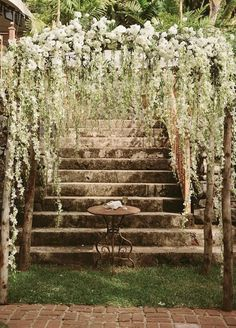 Beautiful Ceremony Arbor.
