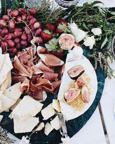 Grazing platter goals  styled by us @lovestonedcreative // email us for your next event lovestonedbridal@icloud.com Image @thepaperfox Florals @aisleofeden #Regram via @lovestonedbridal