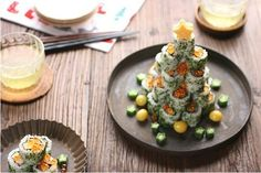 Cena navideña para amantes del Sushi