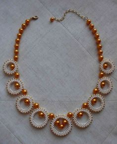 Orange cloud | biser.info - all about beads and beaded works