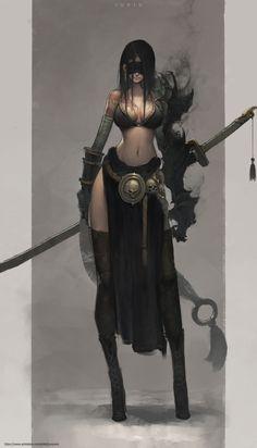 ArtStation - Concept, Ben Juniu Female Character Design, Character Concept, Character Art, Concept Art, Character Reference, Fantasy Women, Fantasy Girl, Dark Fantasy, Anime Fantasy