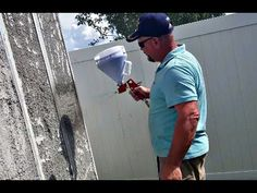 Spraying Air Crete on Panels. Air Crete is lightweight, Fire Proof, and bug resistant. We use portland cement mixed wi. Rocket Mass Heater, Carpenter Work, Portland Cement, Concrete Forms, Dome Homes, Frugal, Homesteading, Cool Stuff, Craft