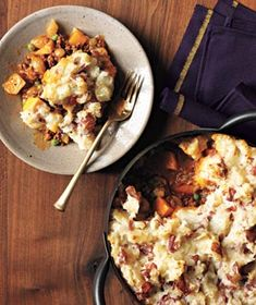 Cottage Pie..Cottage Pie    The mashed potato topping turns golden and crisp as it bakes; it's the perfect vehicle for sopping up the delicious beef stew underneath.