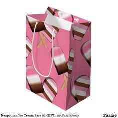 Neapolitan Ice Cream Bars 01-GIFT BAG M Medium Gift Bag  http://www.zazzle.com/neapolitan_ice_cream_bars_01_gift_bag_m_medium_gift_bag-256159243447893611?rf=238588924226571373