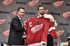 The 36th Captain of the Detroit Red Wings!!! Hockey Teams 4f020b507