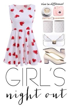 """""""Let's Go And Never Look Back"""" by izzy78 ❤ liked on Polyvore featuring girlsnightout"""