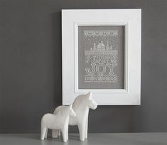 O Tidings of Comfort and Joy  Counted CrossStitch door modernfolk