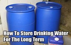 How To Store Drinking Water For The Long Term - SHTF, Emergency Preparedness, Survival Prepping, Homesteading of drink water water aesthetic water clipart water funny water meme water motivation water quotes Urban Survival, Homestead Survival, Survival Food, Wilderness Survival, Camping Survival, Outdoor Survival, Survival Prepping, Survival Skills, Water Survival
