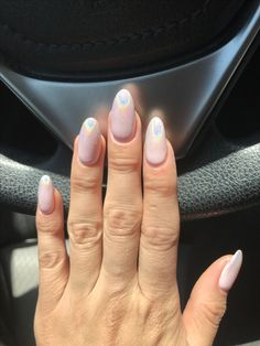Ombré holographic nails!