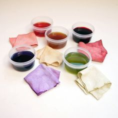 DIY - Natural Dyes With Leftover Fruits and Vegetables. (This is how folks dyed their fabrics in the old days)