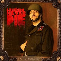 R.A. The Rugged Man - Legends Never Die on 2LP