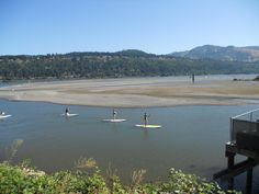SUP on the Columbia River Gorge!