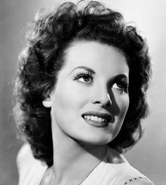 Maureen O'Hara, beautiful woman