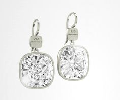 Rebecca Crystal drop earrings