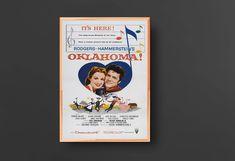 Oklahoma! Gordon McRae Cult Western movie poster print 3 1955