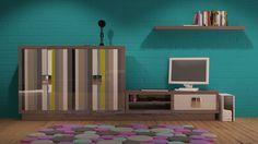 Quantum collection fabricado en España por La Ebanistería. #renders #muebles #furniture #madeinspain