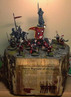 Empire, Regiment of Reknown Warhammer Empire, Warhammer Fantasy Roleplay, Diy And Crafts, The Past, Death, Christmas Ornaments, Holiday Decor, Empire, Dioramas