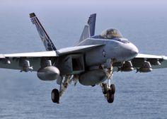 US Navy F-18E