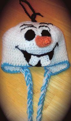 """Olaf """"Frozen"""" hat!"""