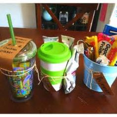 Coffee, Shower prizes and Baby shower game prizes on Pinterest