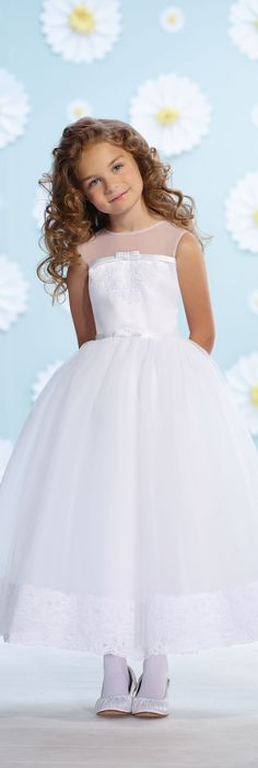 Joan Calabrese for Mon Cheri - Style No. 116361 #flowergirldresses
