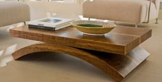 Nature Glass Coffee Table With Wood Frame and glass and wood coffee table