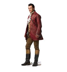 Cardboard Cutout Gaston - Luke Evans Disney's Live Action Beauty and the Beast.  There's no cutout as burly and brawny...