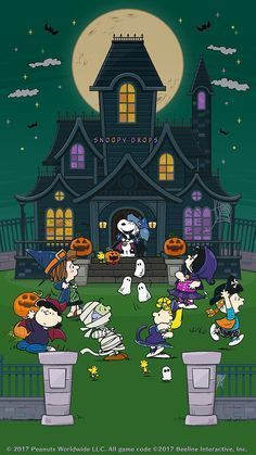 Charlie Brown Halloween Wallpaper Animated Spider Web Wallpaper GIF - Wallpaper Halloween Animated G Charlie Brown Y Snoopy, Charlie Brown Halloween, Great Pumpkin Charlie Brown, Snoopy Love, Snoopy And Woodstock, Fröhliches Halloween, Peanuts Halloween, Halloween Quotes, Halloween Pictures