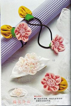 128 best flower making images on pinterest diy flowers fabric fun ribbon flowers to make the pictorial is in the next pin mightylinksfo