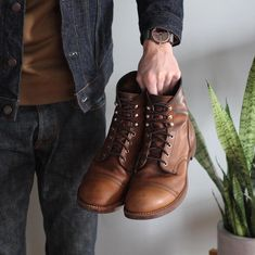 buy online 7f372 f6842 Awesome Iron Ranger boots from Redwing Heritage. Great rugged vibes...photo  by