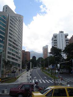 Avenida Poblado in Medellin, Colombia