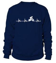 Cycling Heartbeat T Shirt