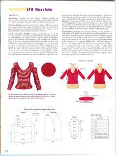 Crochet ladies cut sleeve top