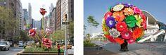 #TheRoses di #WillRyman e #FlowerTree di #ChoiJeongHwa #NYC #Art #Giants #AliceinWonderland  From Glob-Arts