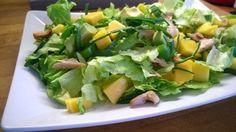 Tupun tupa: Mangoinen broilerisalaatti ja muita jämäpäivä ruok...