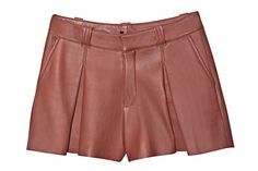 Leather short Talie NK