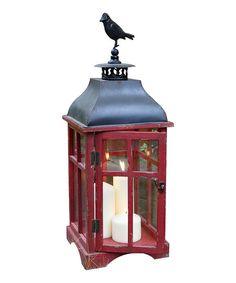 Red Bird Lantern - Set of Two | zulily