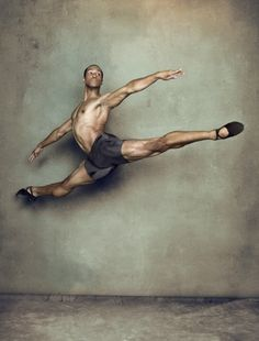 Jermel Johnson from the Pennsylvania Ballet - photo by Chris Crisman