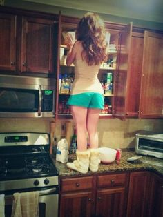 30 Awkward Moments Every Short Girl Understands - like realizing boots and shorts make you look shorter.