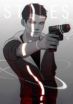 Gift art for my friend Biting-the-Sun. She wanted a quick sketch of Stiles which eventually turned into a gunslingler-supernatural-BAMF Stiles? Haha, I dunno but it was good fun. 2 hrs, PS, Wacom
