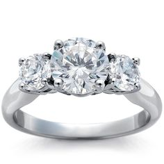 Three stone diamond #ring