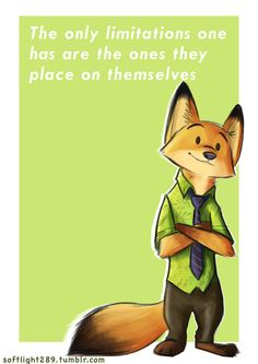 Nick Motivates by myrza289.deviantart.com on @DeviantArt #disney #zootopia #nickwilde #zootropolis